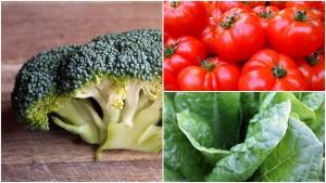 Vegetables healthy diet plan