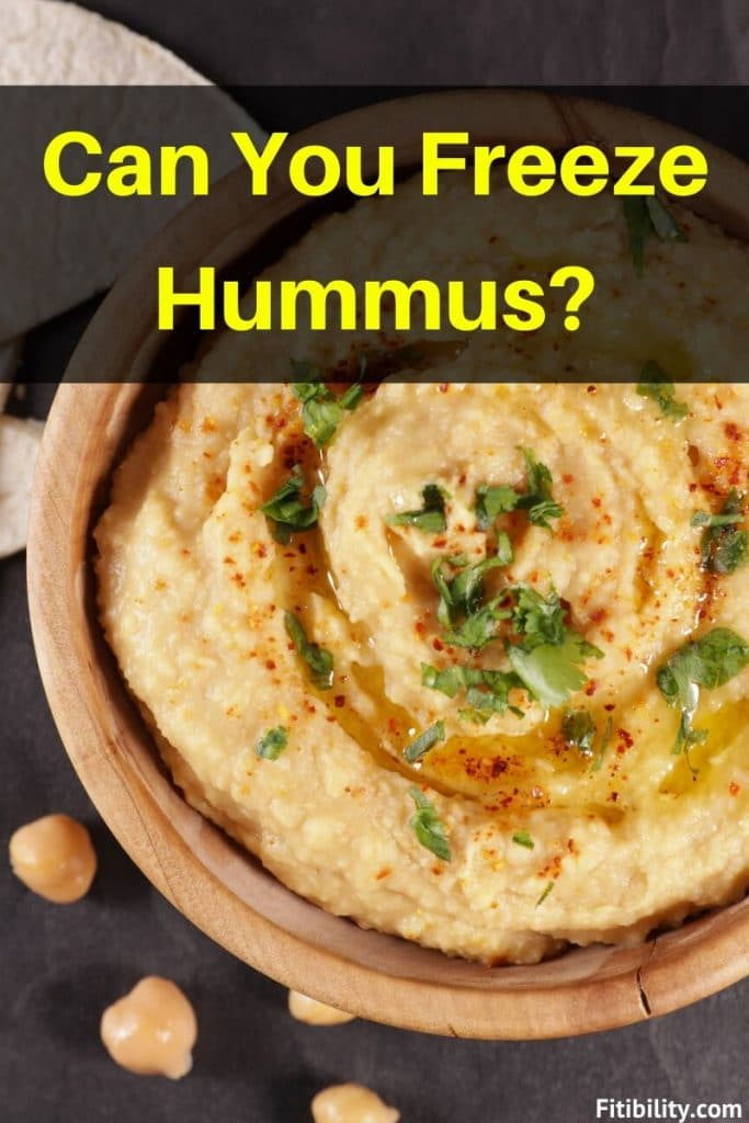can you freeze hummus
