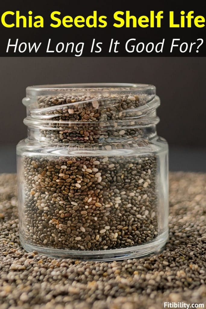 chia seeds shelf life