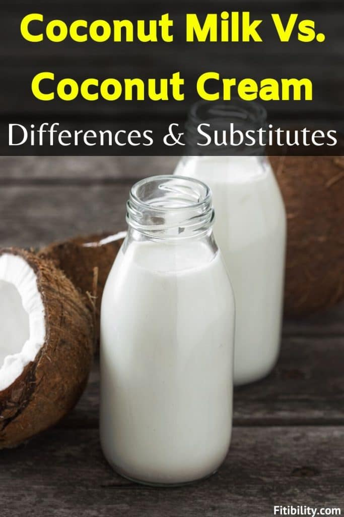 coconut milk substitutes