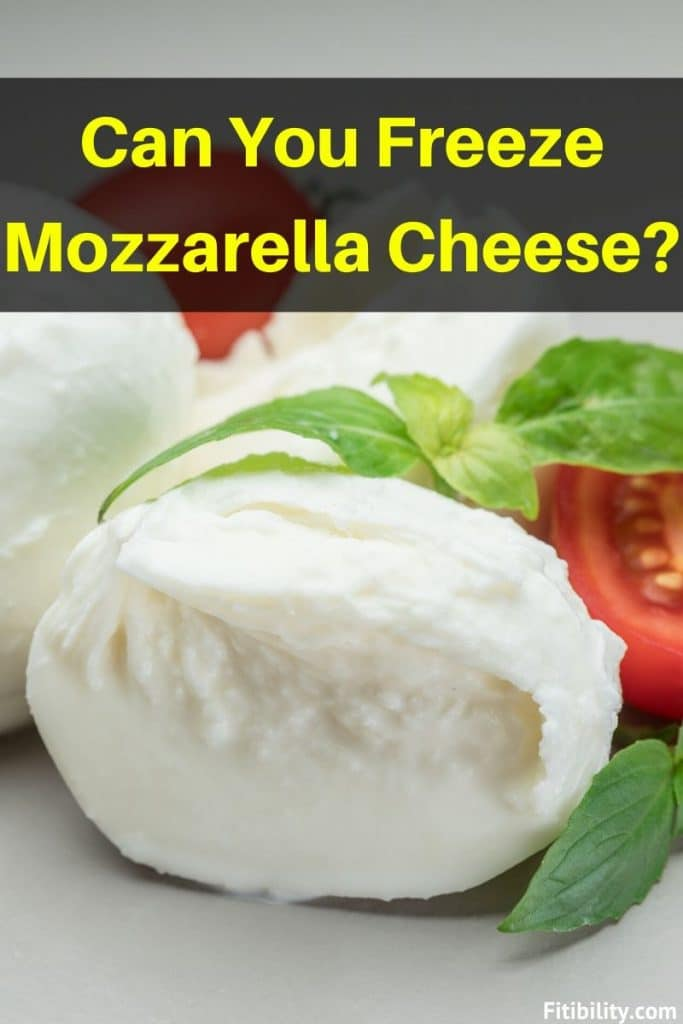freeze mozzarella cheese