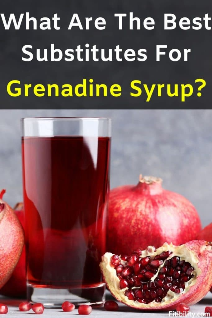 grenadine syrup substitutes