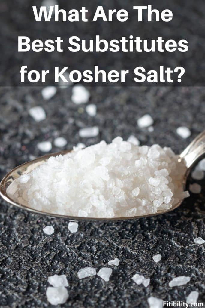 kosher salt substitutes