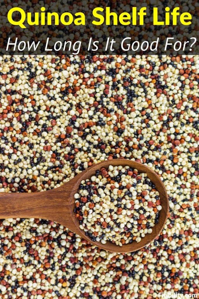 quinoa shelf life