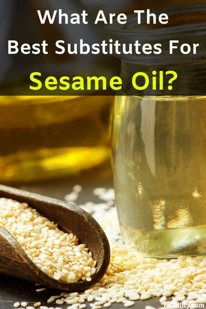 sesame oil replacement