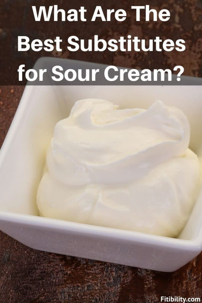 sour cream substitutes