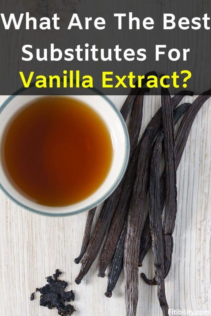 vanilla extract substitutes