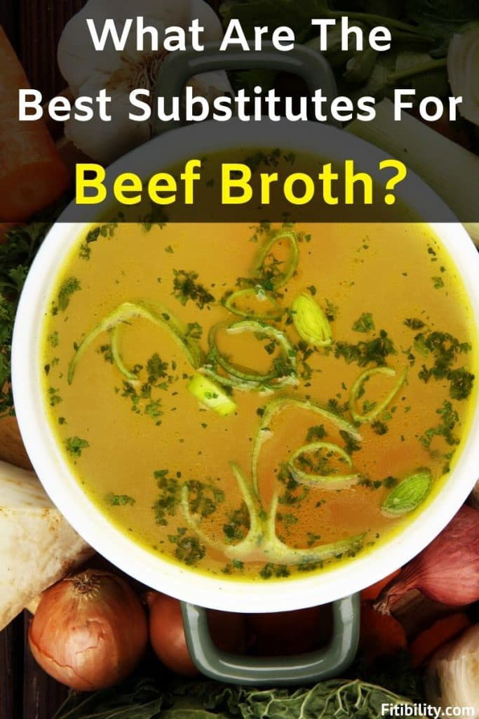 beef broth replacement