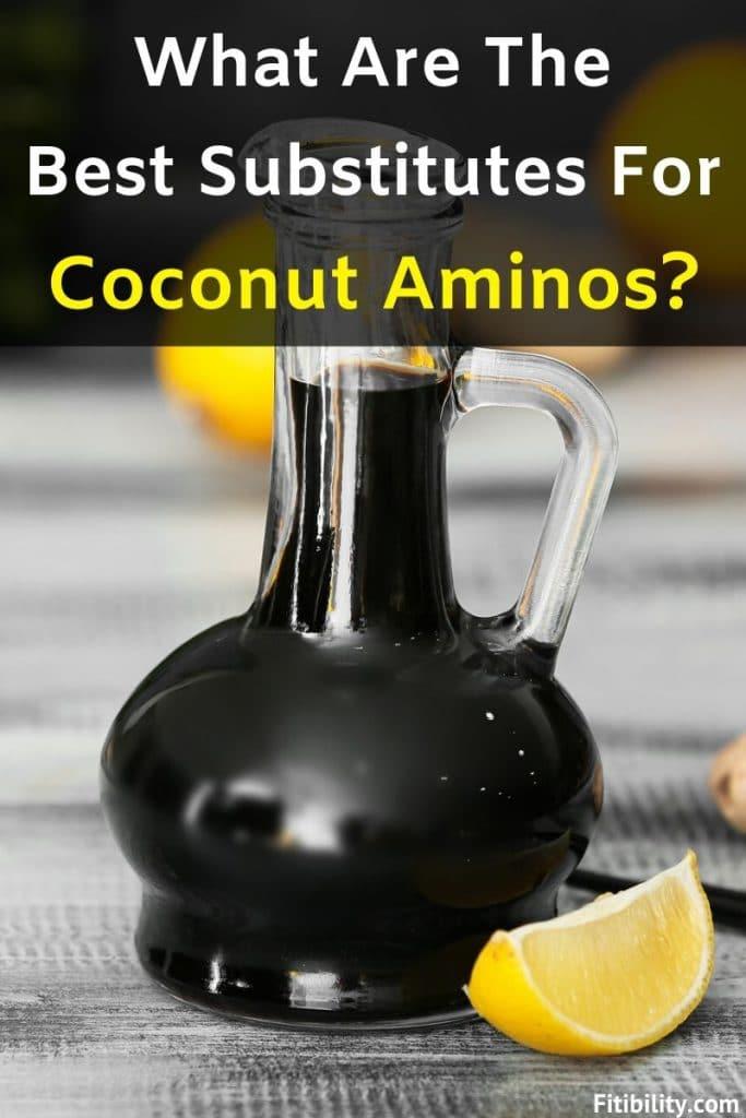coconut aminos substitutes