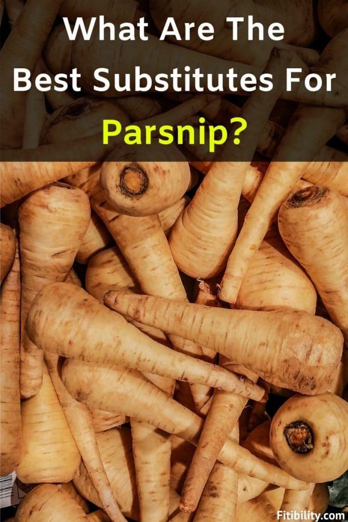 parsnip substitutes
