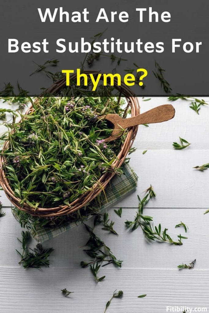 thyme substitutes