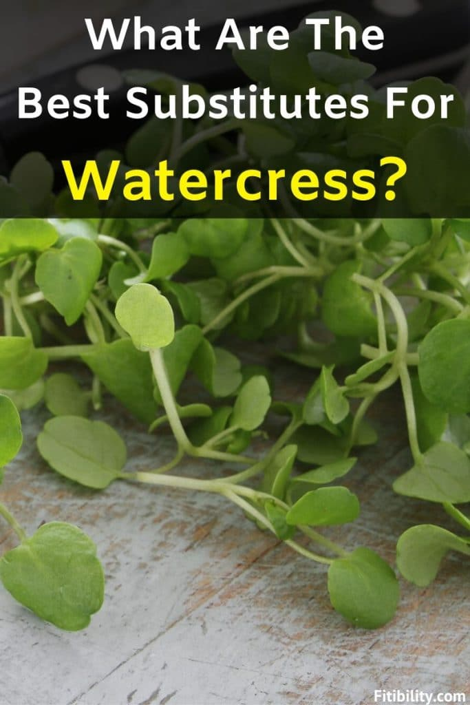 watercress substitute
