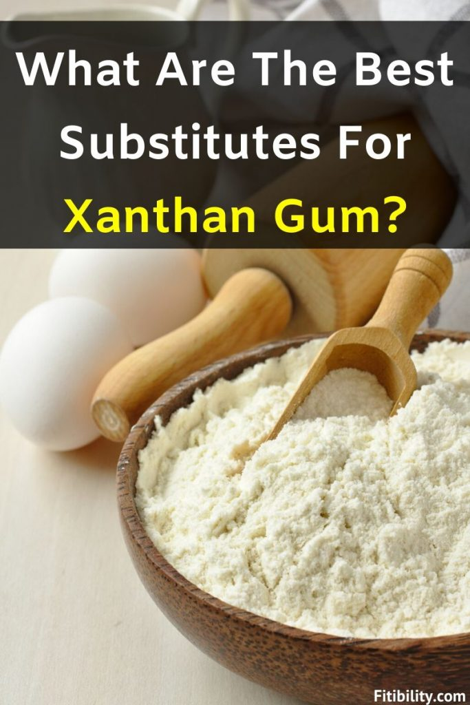xanthan gum substitutes