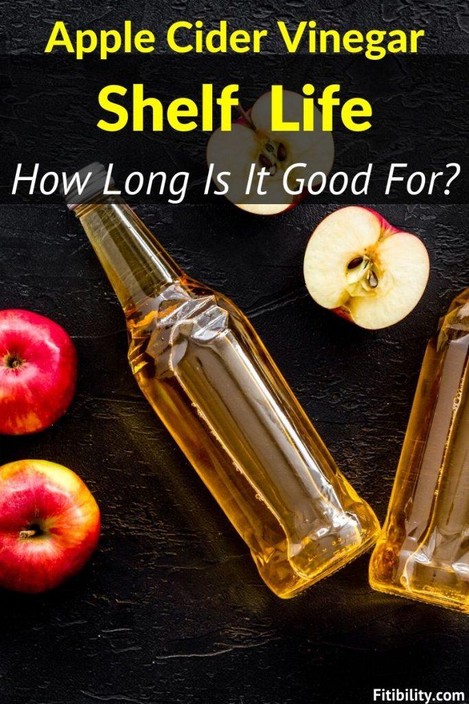 apple cider vinegar shelf life