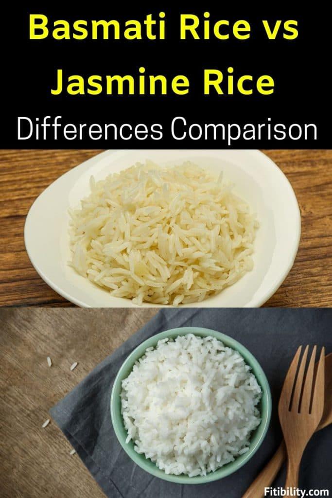 basmati jasmine difference