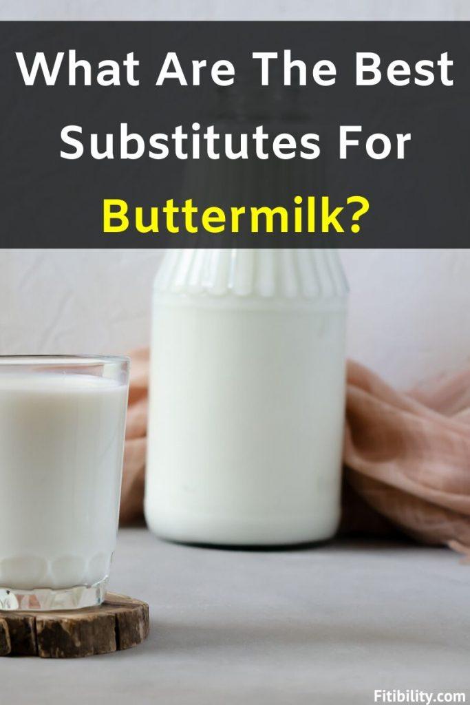 buttermilk alternatives
