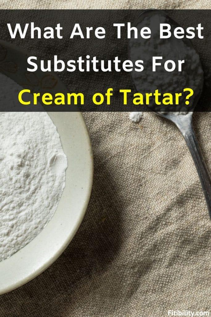 cream of tartar substitute
