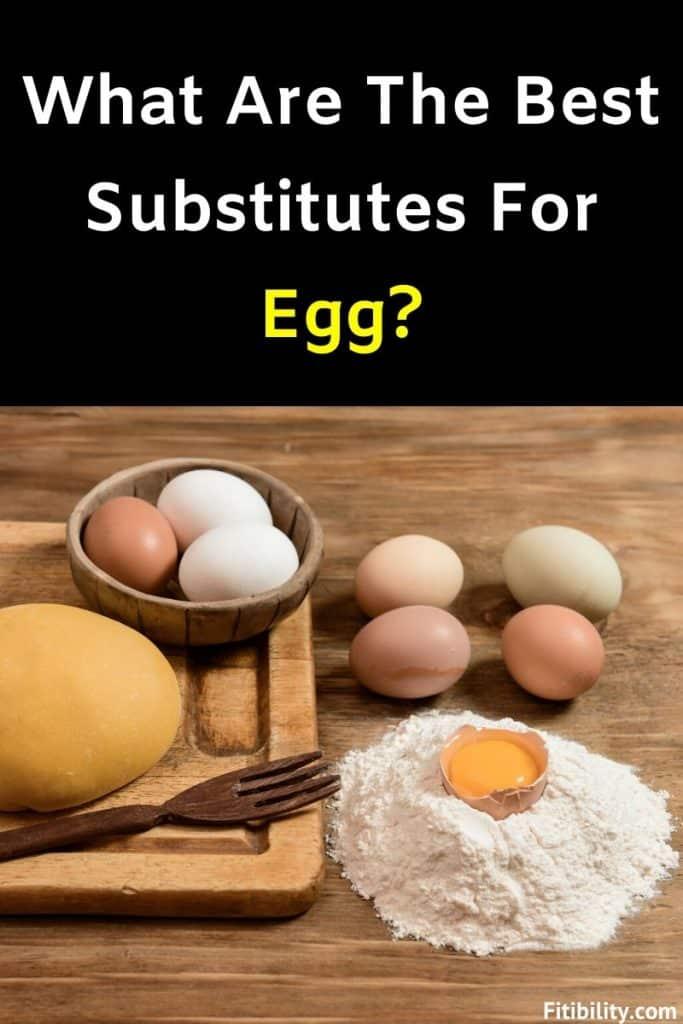 egg substitute baking