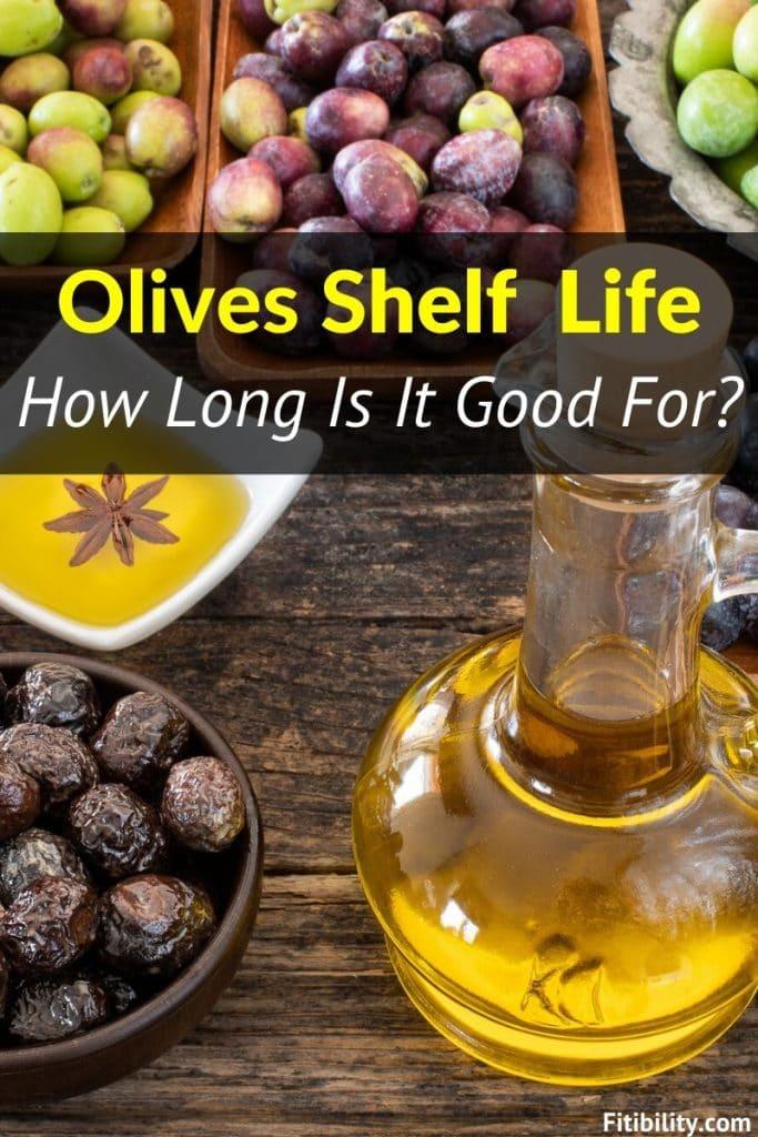 olives shelf life