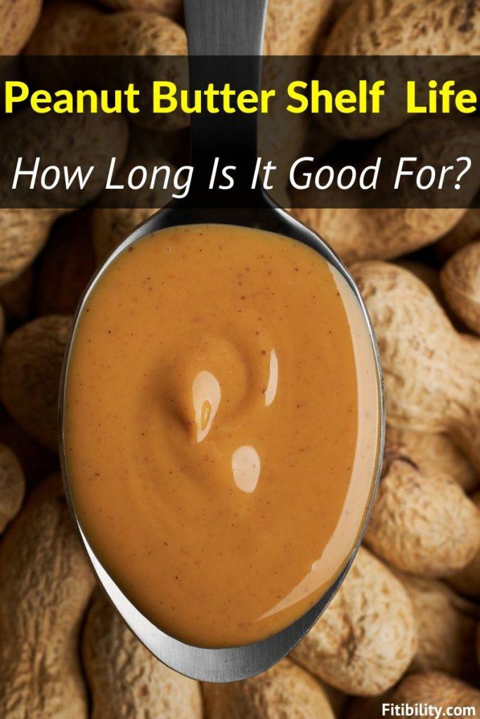 peanut butter shelf life