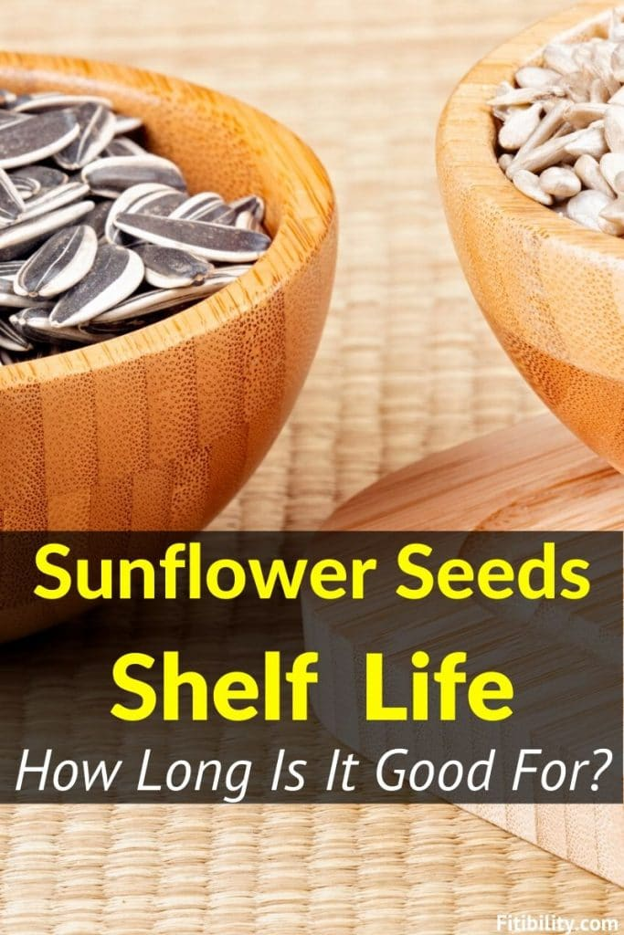 sunflower seeds shelf life