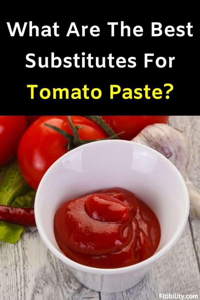tomato paste alternative