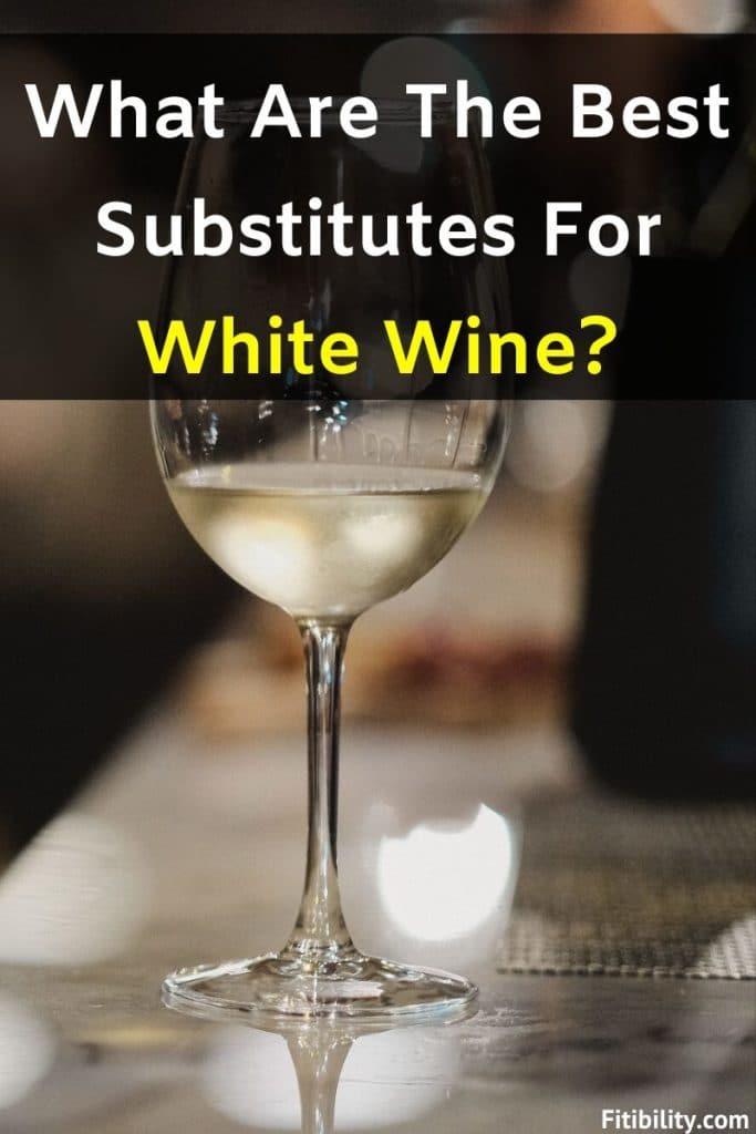white wine substitute