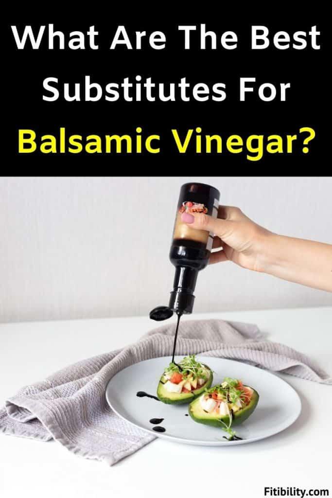 balsamic vinegar replacement