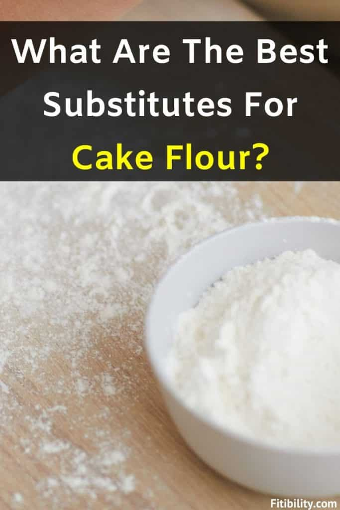 cake flour alternatives