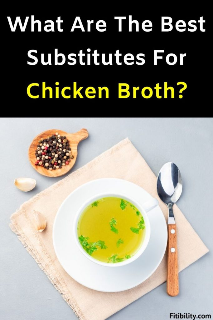 chicken stock substitute