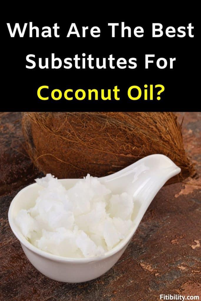 coconut oil alternative
