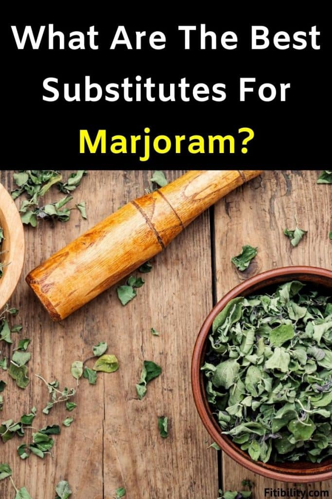 marjoram spice alternative