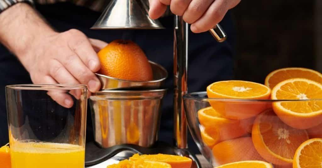 orange juice shelf life