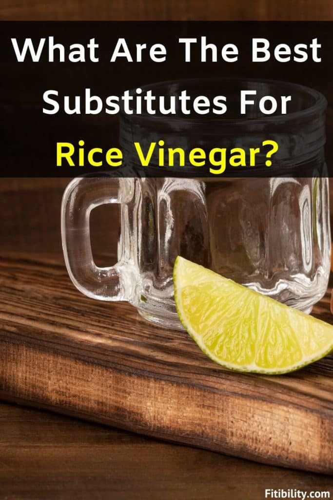 rice vinegar alternatives