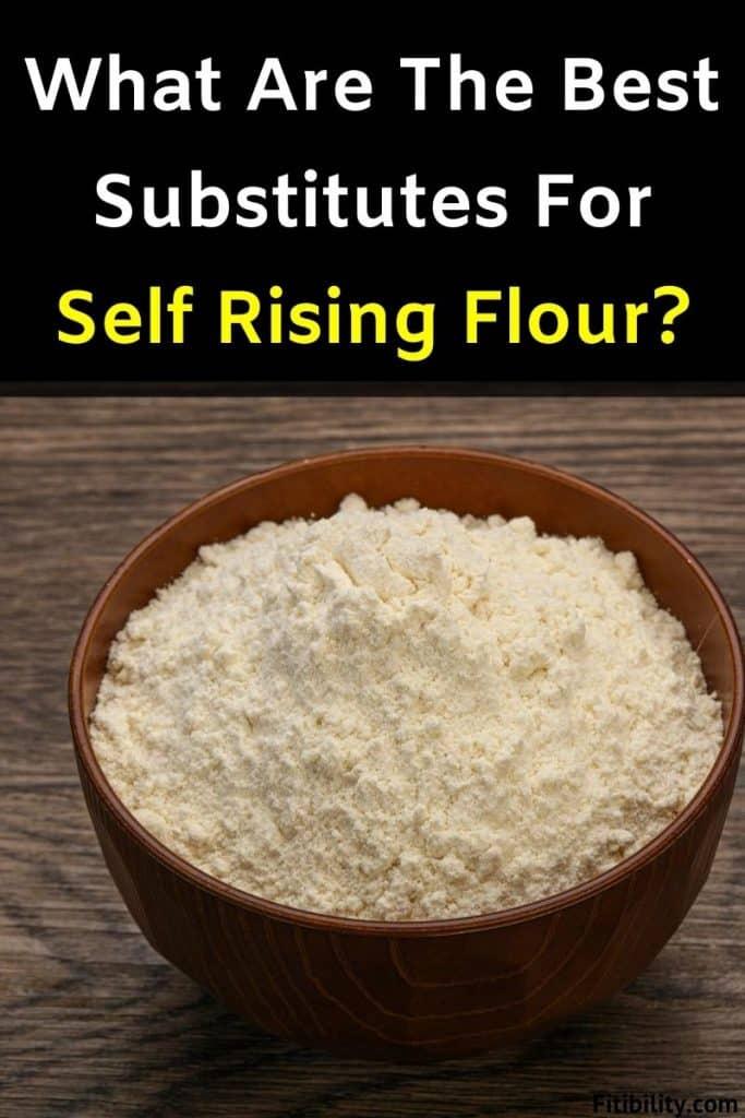 self rising flour alternative