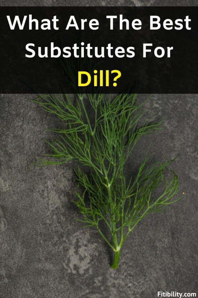 dillweed alternatives