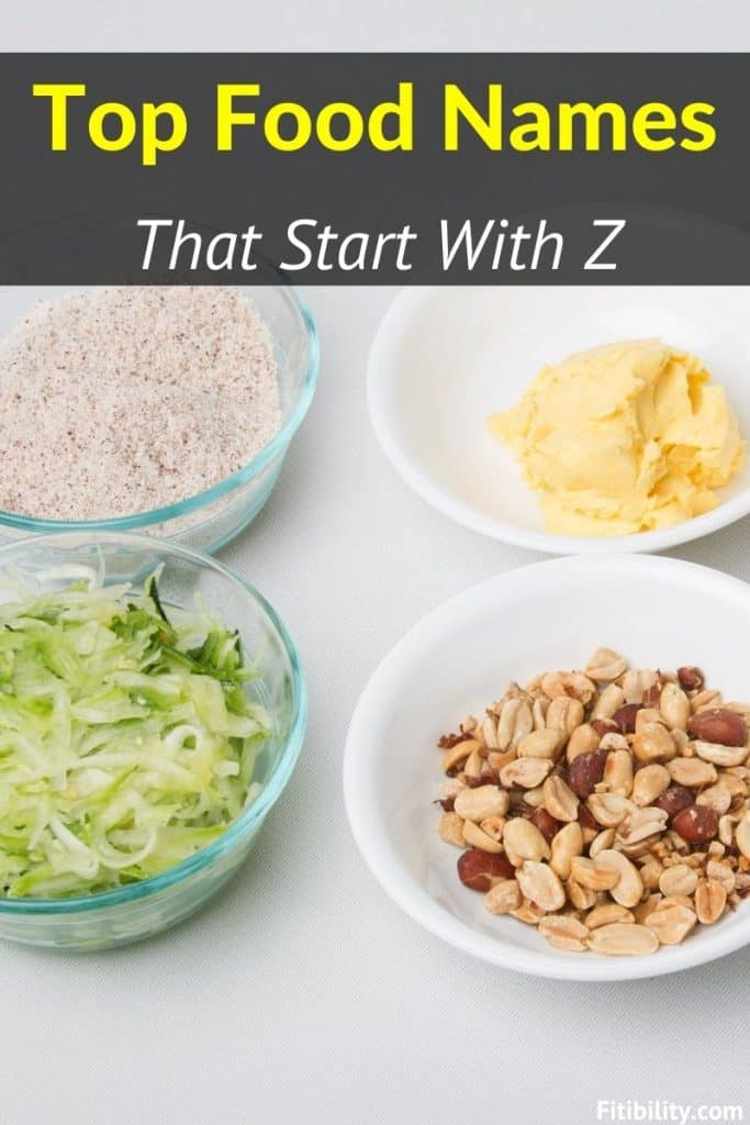 food names begin with z