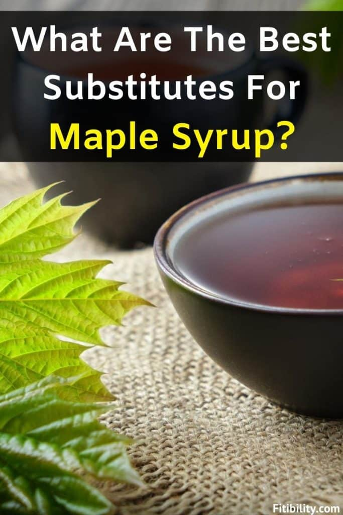 maple syrup replacements