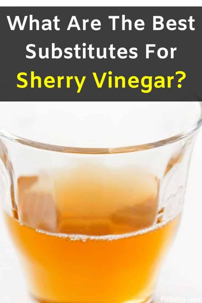 sherry vinegar alternative