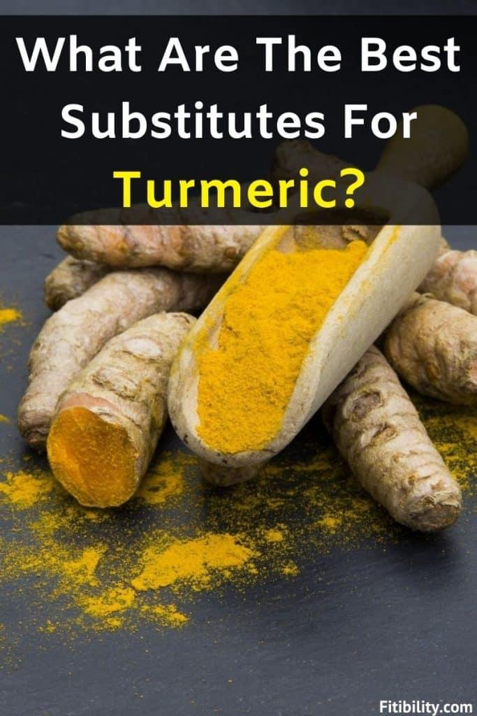 turmeric powder alternatives