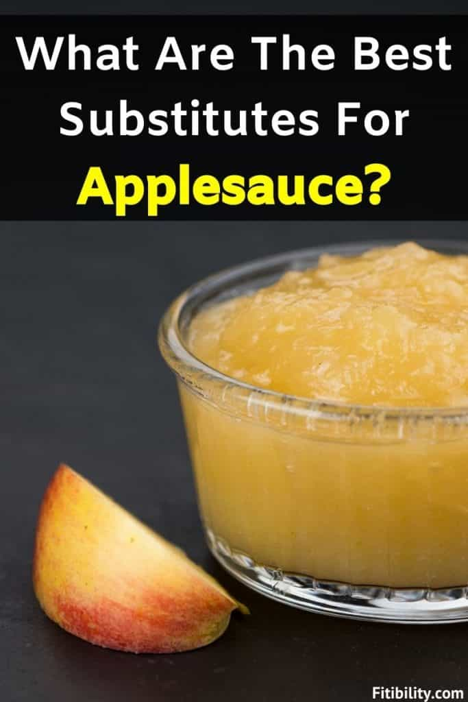 applesauce replacement