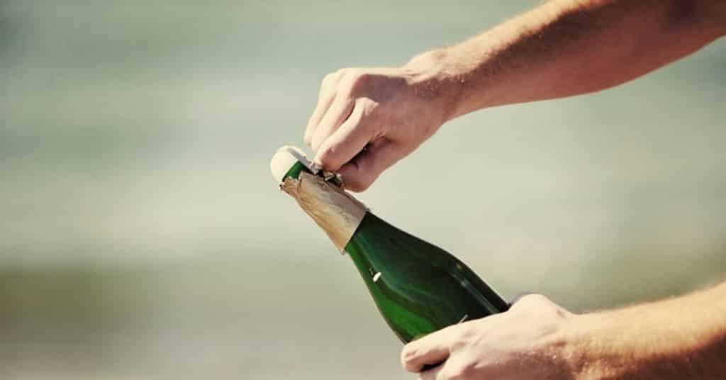 champagne shelf life