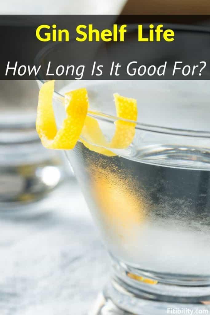 gin goes bad