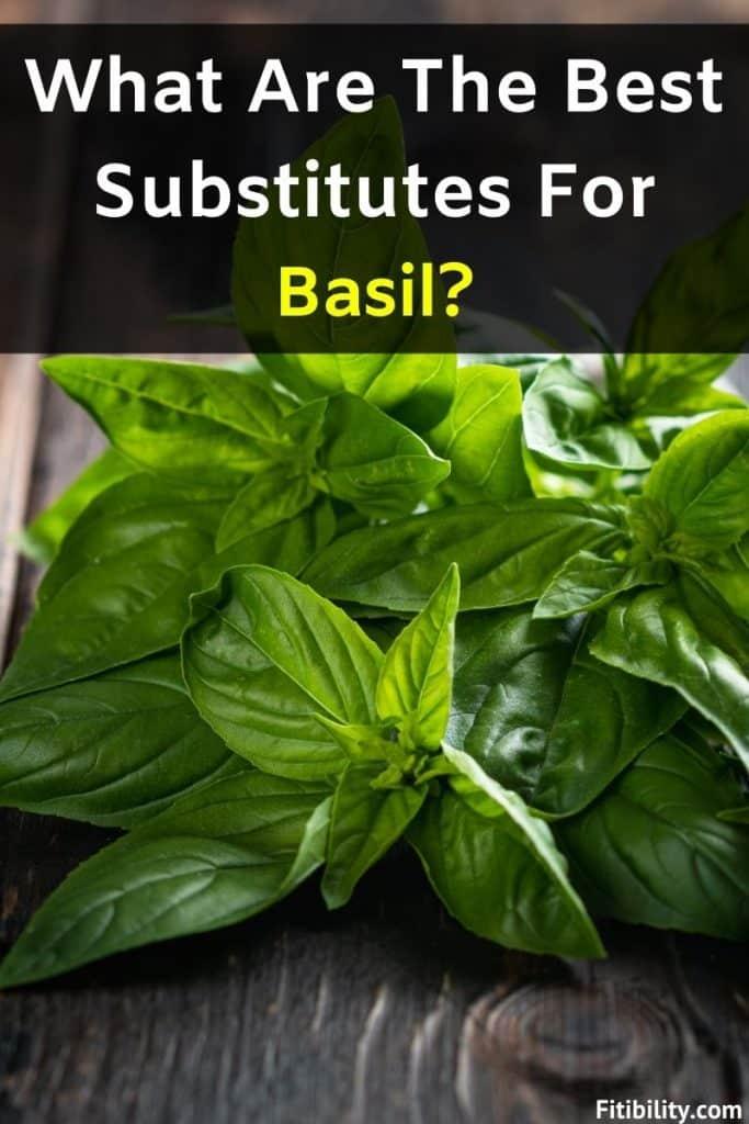 basil leaves alternative