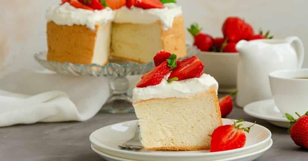 freeze angel food cake