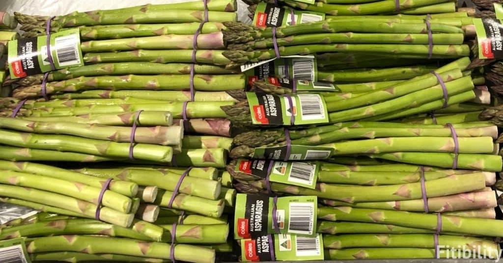 freeze asparagus