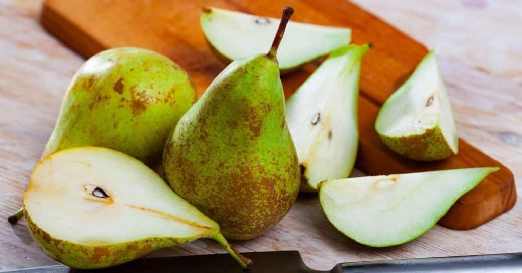 freeze pears