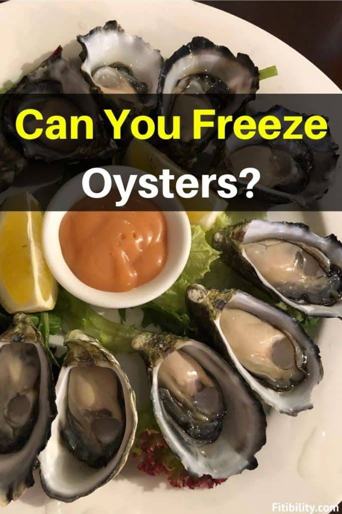 thaw frozen oysters