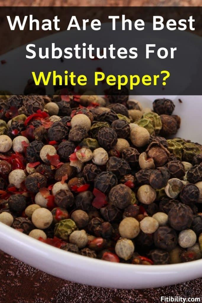 white pepper alternative