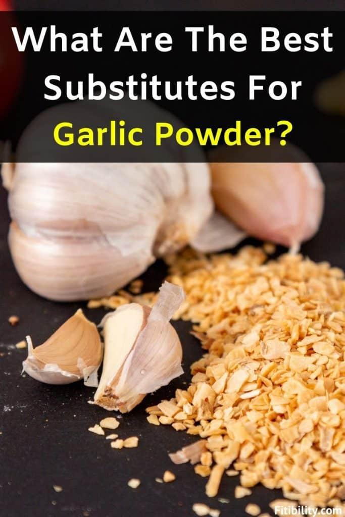 garlic powder replacement